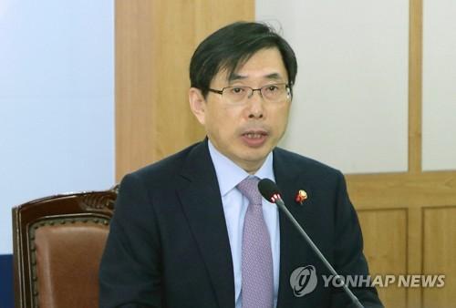 박상기 법무부 장관 [연합뉴스 자료사진]