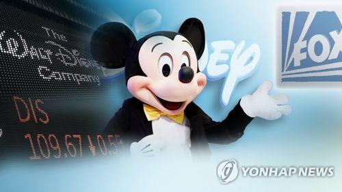 디즈니, 21세기폭스 인수