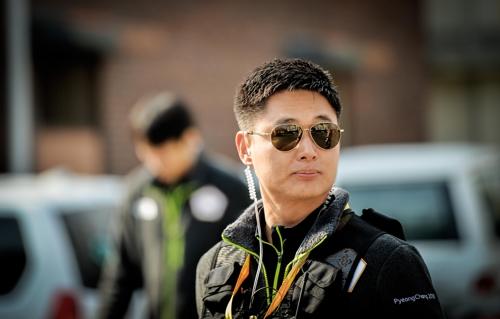 [평창人] 성화와 함께 달리는 유성수-이지현 '부부 경찰관'