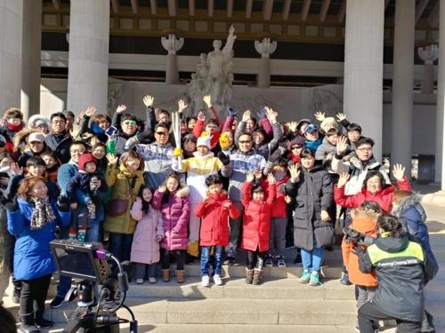'독립운동 산실' 천안서 평창동계올림픽 성화 '활활'