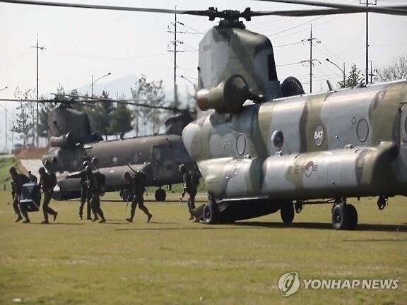 시누크(CH-47) 헬기[연합뉴스 자료사진]