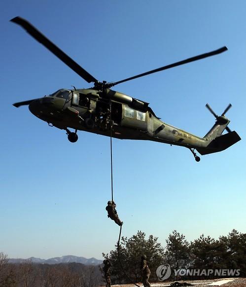 UH-60 헬기[연합뉴스 자료사진]