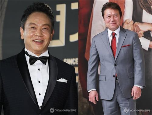 김영철(왼쪽)과 천호진