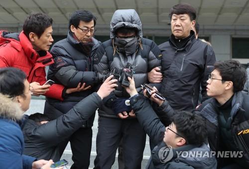 '인면수심' 고준희양 친부 [연합뉴스 자료사진]