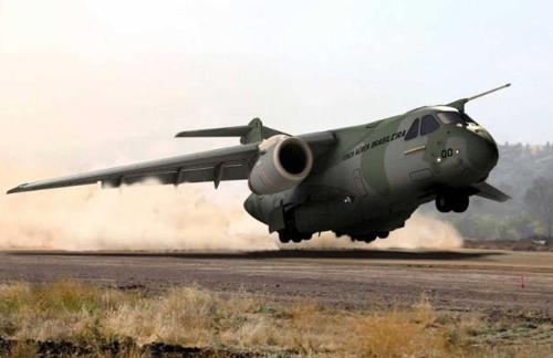 엠브라에르가 생산하는 군용 수송기 KC-390 [엠브라에르 웹사이트]