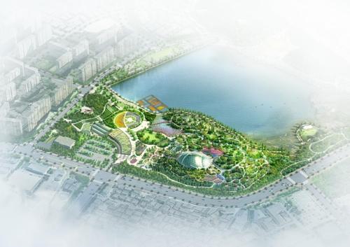 수원시1호 공립수목원 '일월수목원' 조감도
