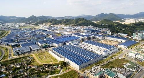 김해골든루트일반산업단지 전경