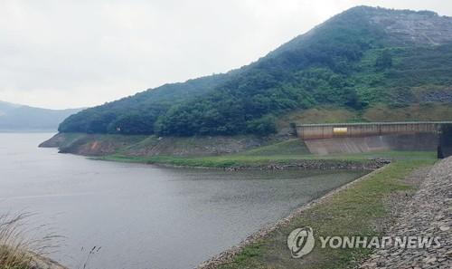 보령댐 전경 [연합뉴스 자료사진]