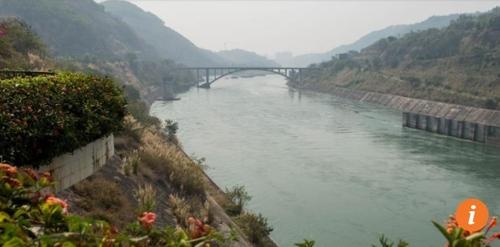 중국이 메콩강 상류 지역에 건설한 댐