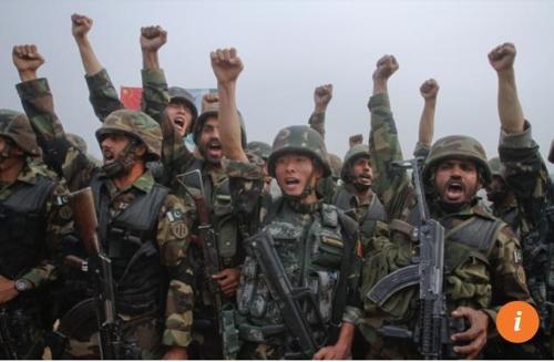 중국과 파키스탄의 합동 군사훈련