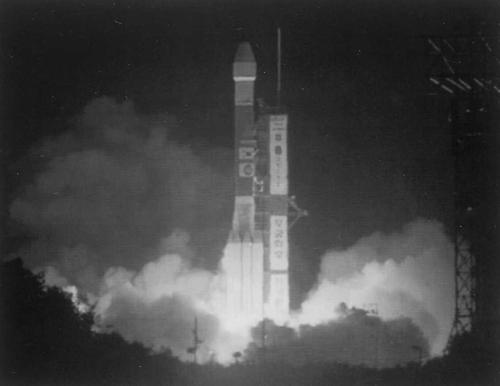 발사되는 무궁화 2호 위성