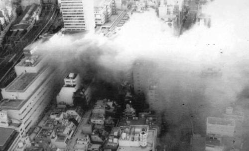 고베 대지진 피해 모습 [연합뉴스 자료사진]