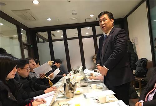 발언하는 최승재 소상공인연합회장