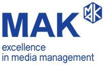 미디어오딧코리아, 회사 CI 'MAK'로 변경