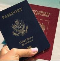 미국과 러시아 여권 [더타임스 캡처]