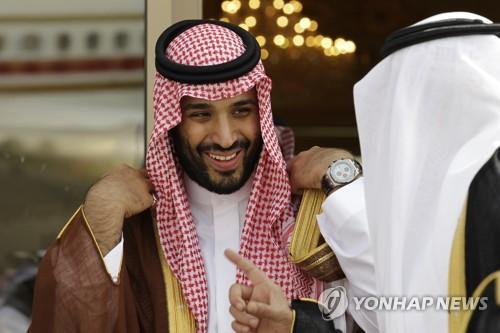 사우디아라비아 모하마드 빈살만 왕세자[AP=연합뉴스 자료사진]