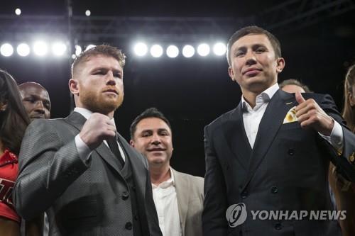 골로프킨(오른쪽)과 알바레스 [AP=연합뉴스 자료사진]