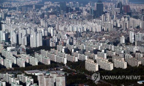 서울 강남구 대치동 아파트 전경