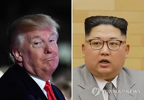도널드 트럼프 미국 대통령과 김정은 북한 노동당 위원장 [연합뉴스 자료사진]