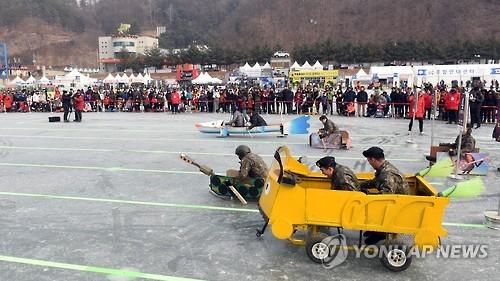 화천산천어축제 이벤트 '창작썰매 콘테스트' 20일 열려