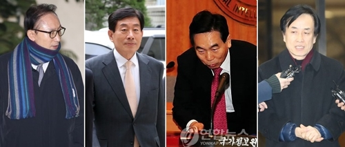 '각자도생' 나선 측근들…검찰 포토라인으로 MB 내모나