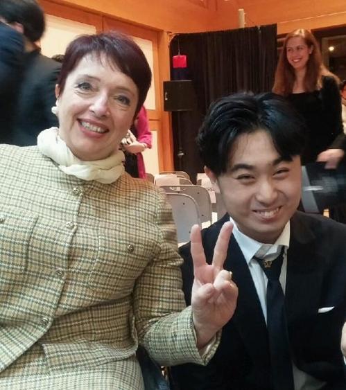 '3살 지능' 지적장애 첼리스트…유엔 무대에 서다