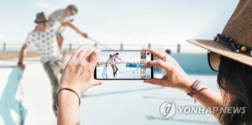LG V30, 연합뉴스 자료사진