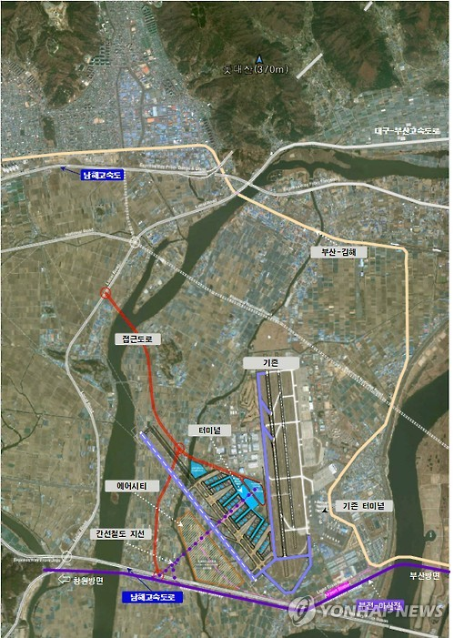 ADPi가 제시한 김해공항 확장안
