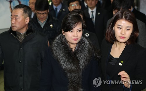 """""""北현송월 '왜 이렇게 마스크 쓰는 사람이 많으냐' 물어"""""""