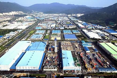 메카트로닉스 업종이 밀집한 창원국가산업단지 전경. [연합뉴스 자료사진]