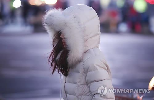 한파주의보 [연합뉴스 자료 사진]
