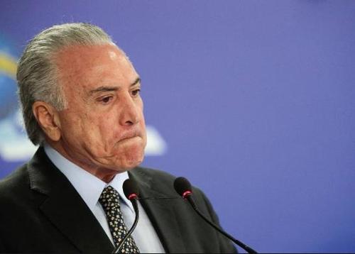 미셰우 테메르 브라질 대통령 [브라질 시사주간지 베자]