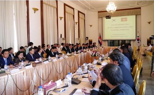 제2차 한-캄보디아 경제공동위 현장