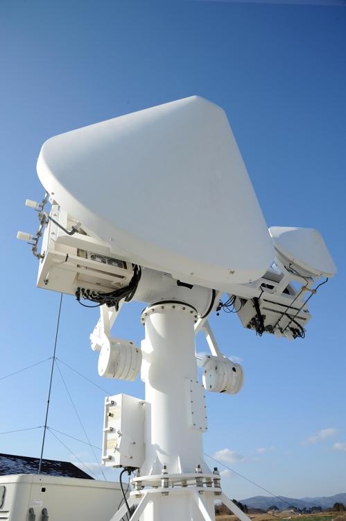 대관령에 설치된 NASA 레이더