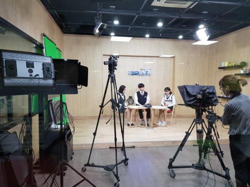 미디어경청 방송 모습.