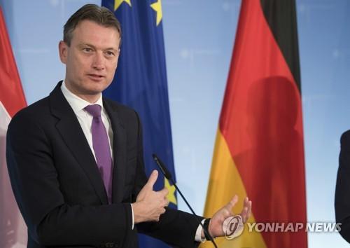 '푸틴 만났다' 거짓말했다가 결국 사퇴한 네덜란드 외교장관 [연합뉴스 자료사진]