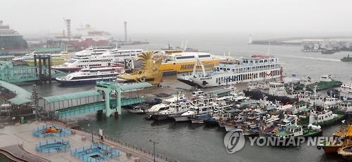 발 묶인 인천 여객선