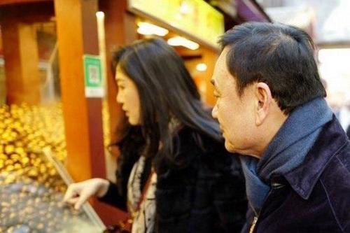 중국 베이징에 모습을 드러낸 잉락[사진출처 방콕포스트 홈페이지]
