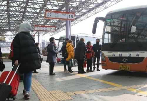 귀성객 붐비는 인천버스터미널