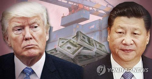 트럼프 미 대통령과 시진핑 중국 국가주석(CG)