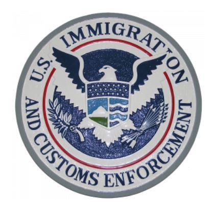 미 이민세관단속국 로고