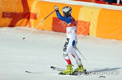 [올림픽] 결승선 통과한 김동우