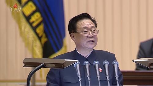 북한 최룡해, 김정일 생일 경축 중앙보고대회서 연설