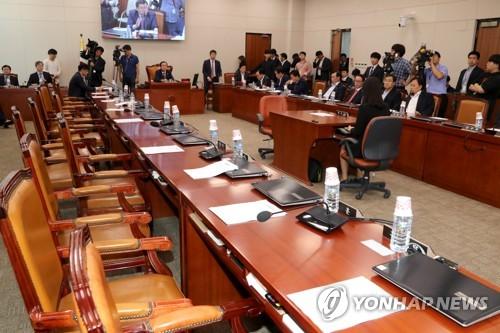 산업위 전체회의…GM 군산공장 폐쇄·美통상압박 대책 추궁