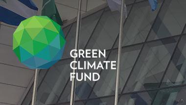 녹색기후기금 로고