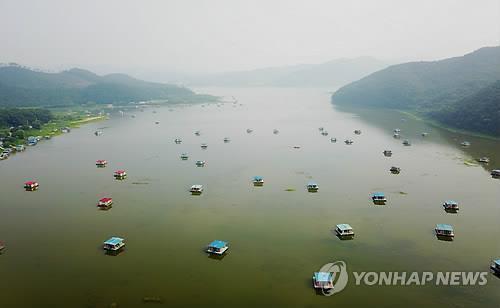 용인 이동저수지 모습[연합뉴스 자료사진]