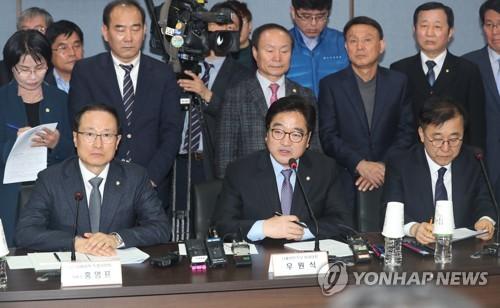 우원식 원내대표, GM특위 발언