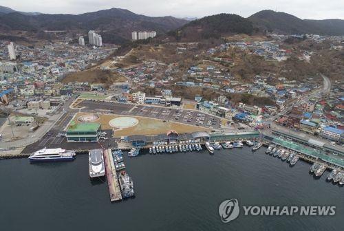 해양관광항으로 변신한 동해 묵호항[연합뉴스 자료사진]