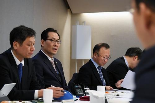 물가관계차관회의에 참석한 고형권 기재부 1차관
