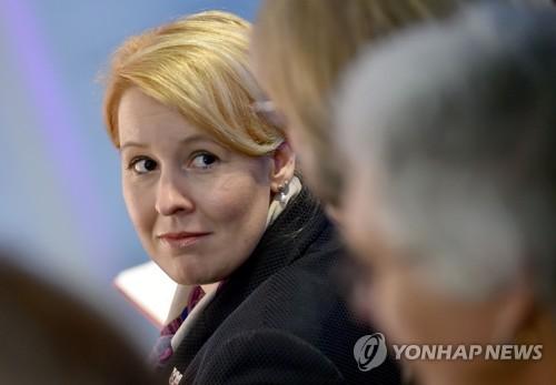 독일 차기정부 여성부 장관 맡게 될 기파이 [AFP=연합뉴스]